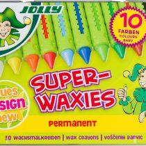 Jolly creioane cerate 10 culori - jucariidezece.ro